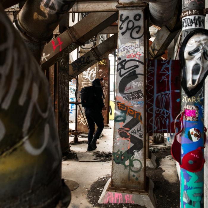 Abandoned Silos San Francisco