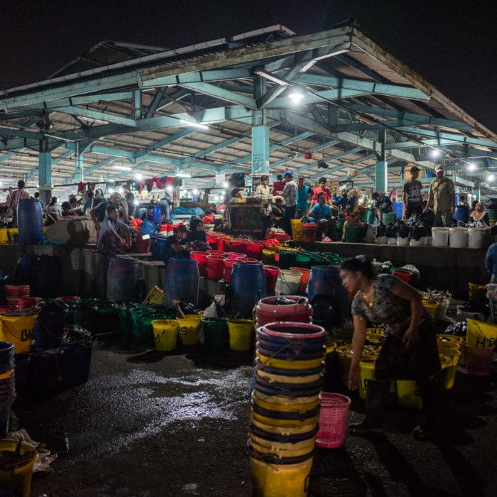 Fish Market, Jakarta