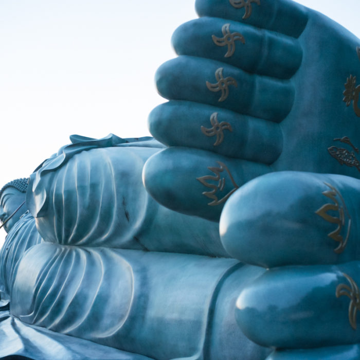 Finding Sleeping Buddha