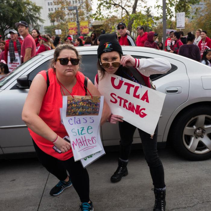 Teacher's Strike Los Angeles